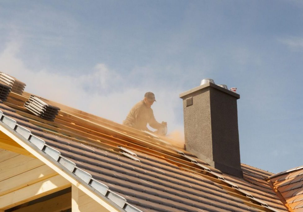 professional roofing contractor roofers replacing roof